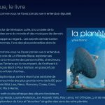 livre planete bleue