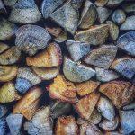 buches de bois de chauffage