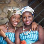 deux jeunes femmes africaines